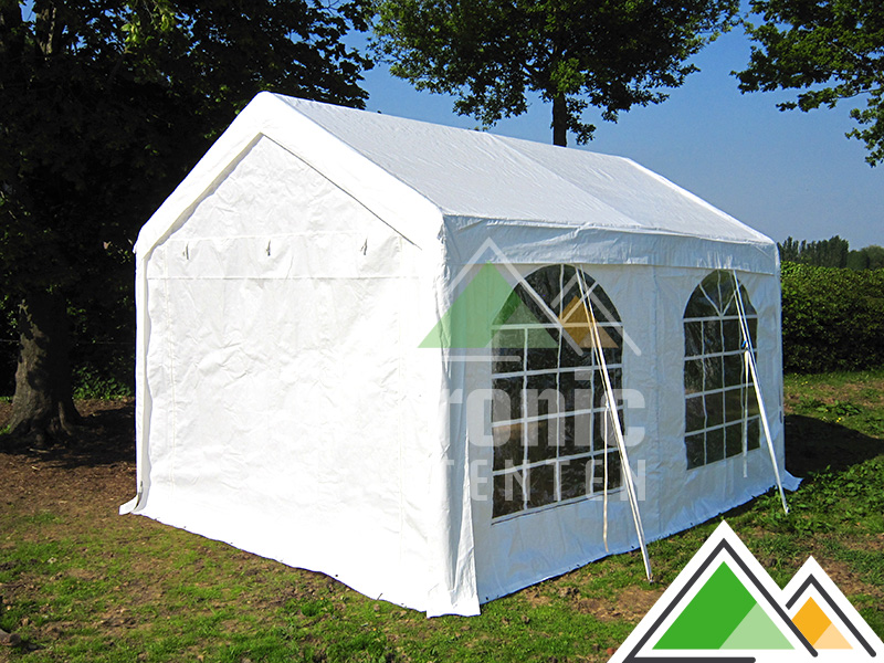 goedkope partytent 3 x 4 m te koop feesttent. Black Bedroom Furniture Sets. Home Design Ideas