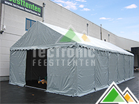 Stockage tent van 5m breed en 10m lang