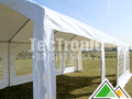 Professionele partytent 4x8 in wit pvc