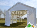 5x8 partytent in wit pvc