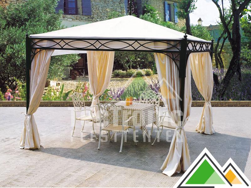 Betere Romantisch prieeltje 3 x 3 m voor uw tuin of terras EB-83