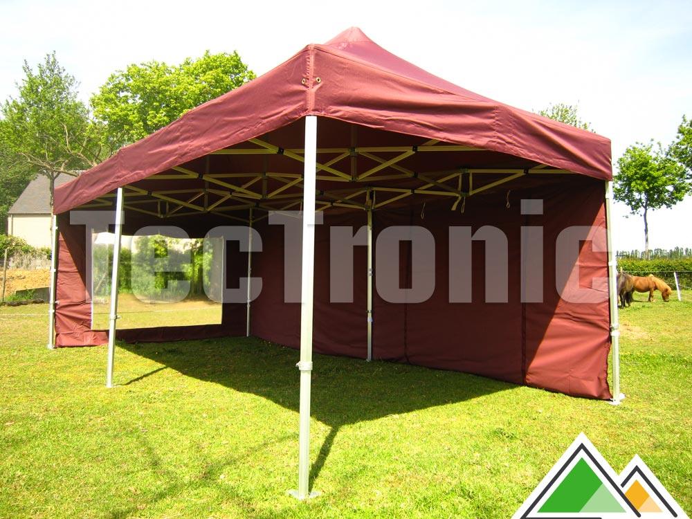 Vouwtent 3 x 6 m solid 50 te koop opvouwbare aluminium tent - Tent voor terras ...